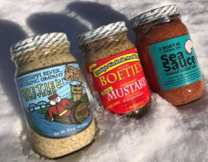 Bourbon Barrel, Boetje's Original & Sea Sauce